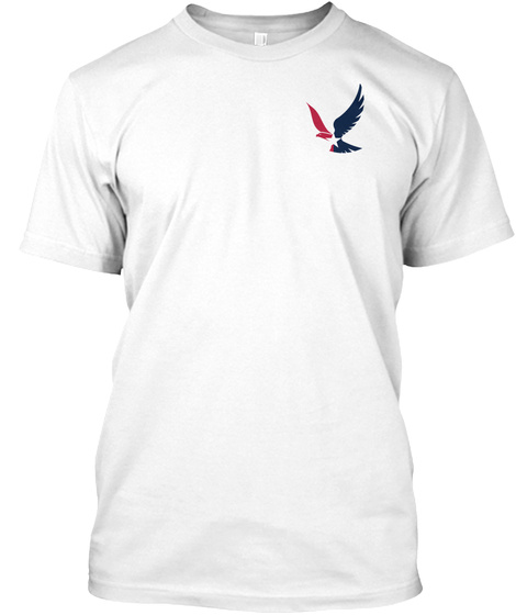 United Not Silenced White T-Shirt Front