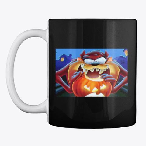 Halloween Mugs Black T-Shirt Front