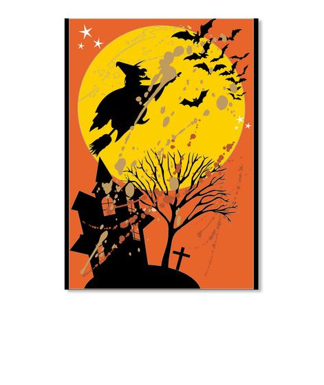 Happy Halloween Sticker Black T-Shirt Front