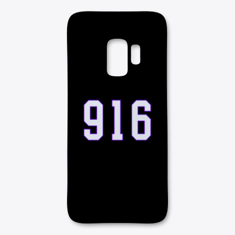 916 Samsung Phone Case Black T-Shirt Front