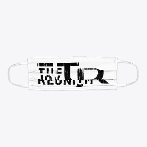 """Tjr"" Face Mask Standard T-Shirt Flat"