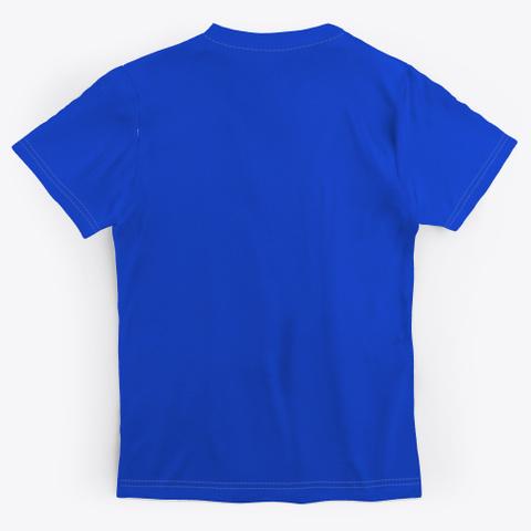 Inhale Faith. Exhale Doubt Royal Blue áo T-Shirt Back