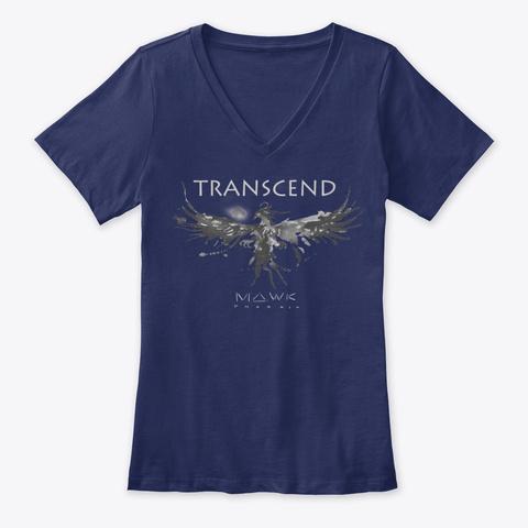 Mawk Phoenix   Transcend Collection Navy T-Shirt Front
