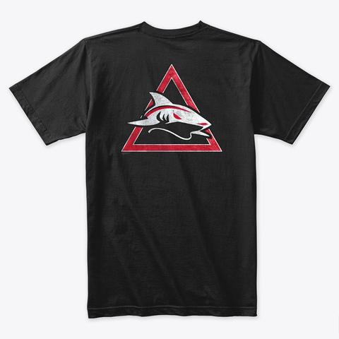 Official Kama Jiu Jitsu Premium T Shirt Black T-Shirt Back