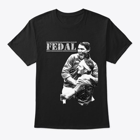 Fedal Black T-Shirt Front