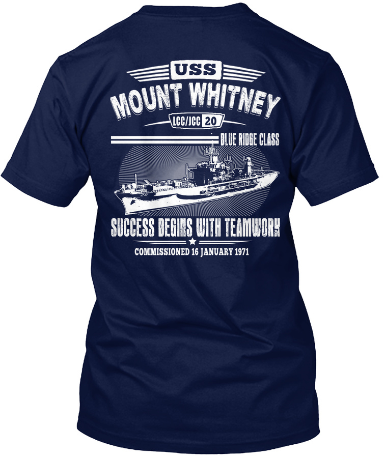 [Ltd. EDITION] USS MOUNT WHITNEY TSHIRT Unisex Tshirt