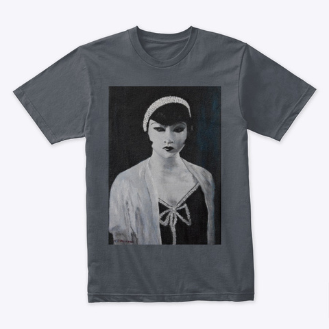 Anna May Wong Heavy Metal T-Shirt Front