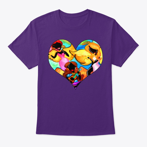 Angel Band Purple T-Shirt Front