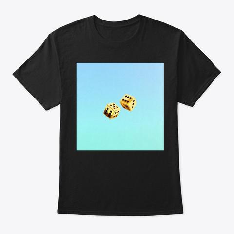 Dice Beat Premium Tee Black T-Shirt Front