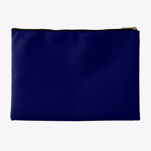 Pouch | We'll Get Through This Together Dark Navy T-Shirt Back
