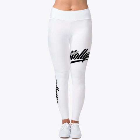 Internet Hollywood Woman's  Leggings Standard T-Shirt Front