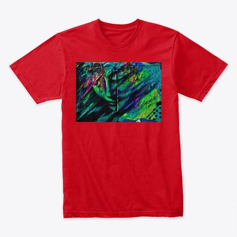 Graffiti 2050 Red T-Shirt Front