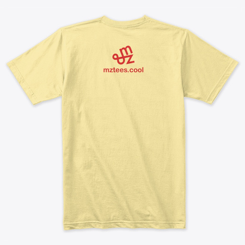 Ramen Broths Banana Cream T-Shirt Back
