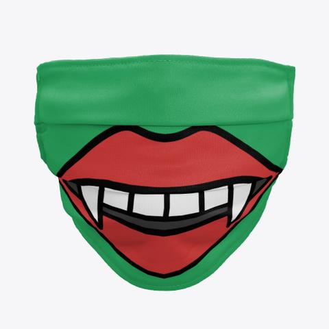 vampire teeth cloth face masks