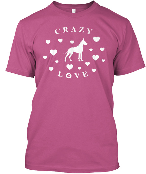 Crazy  Love Heliconia T-Shirt Front