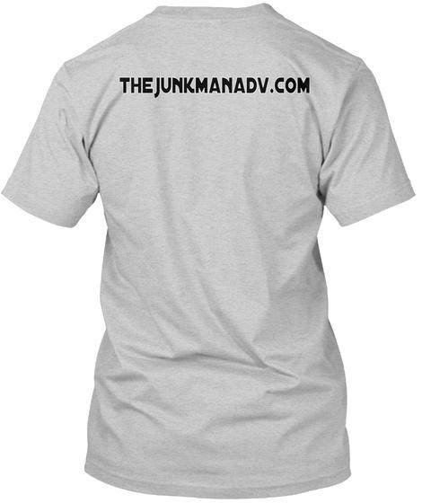 The Junkmanadv.Com Light Steel T-Shirt Back