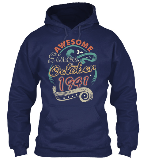 Awesome October 1941 Birthday - Gift LongSleeve Tee