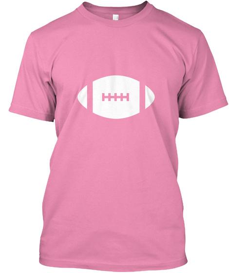 Women's Football Shirt  Mom Sports  Pink T-Shirt Front