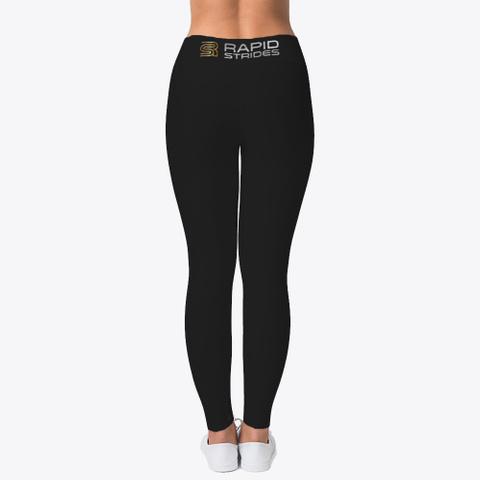Rapid Strides Fitness Leggings Neu  Black T-Shirt Back
