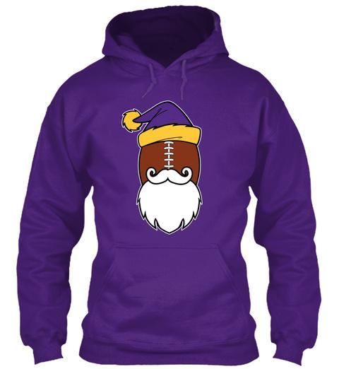 Twin Cities Santa Hoodies 🎄🎅$29.99 😳 Purple T-Shirt Front