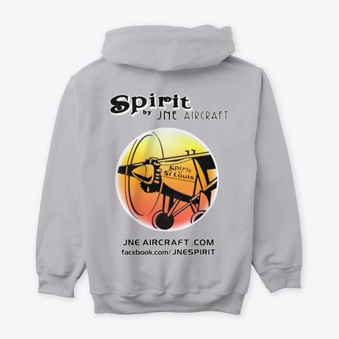 Spirit By Jne (Yellow/Red) Sport Grey T-Shirt Back