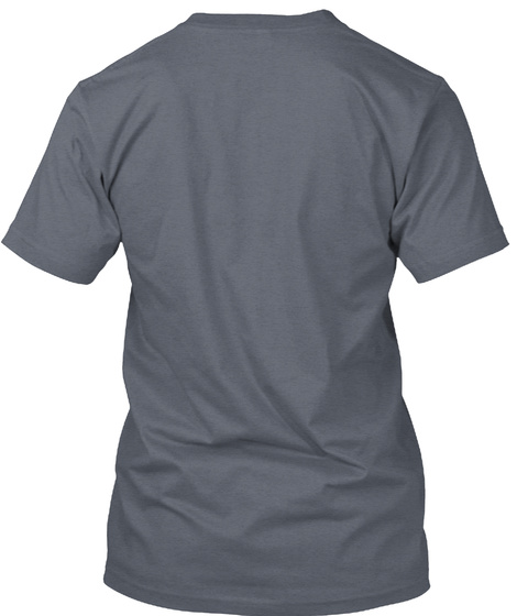 Dapsmagic  Deep Heather T-Shirt Back