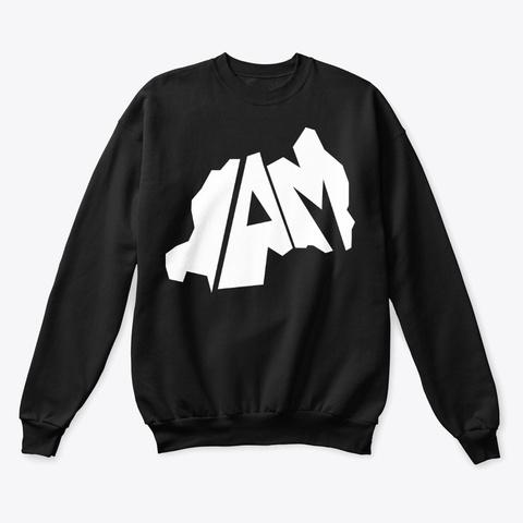 Iam.Rw Merch Black T-Shirt Front