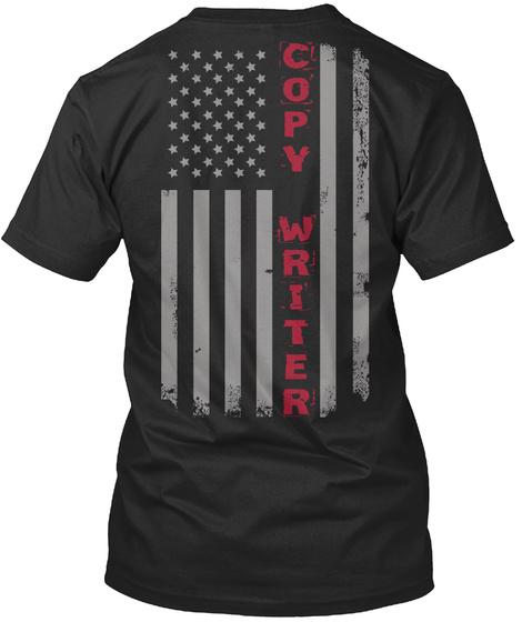 Copy Writer American Flag Pride SweatShirt