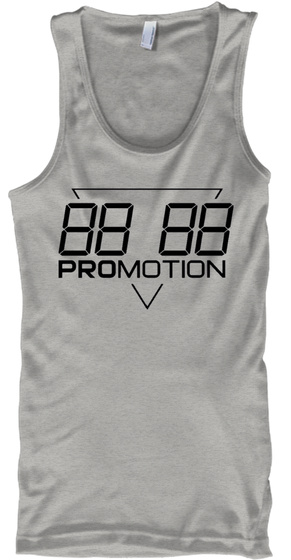 Promotion Premium Tank Athletic Heather T-Shirt Front
