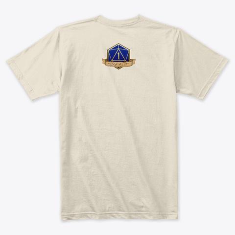 You Meet In A Tavern Cream T-Shirt Back