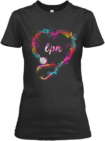 Lpn Black T-Shirt Front
