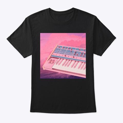 Analog Dreams Black T-Shirt Front