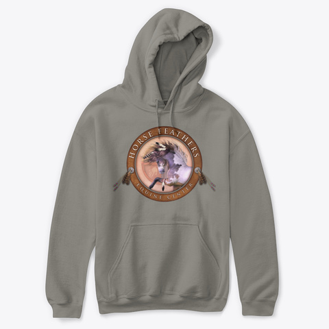 Fall/Winter Feed Fundraiser Charcoal Sweatshirt Front