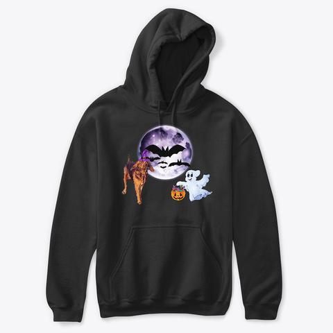 Bloodhound Halloween  Black Camiseta Front