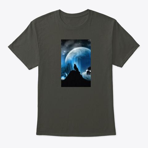 Paranormal Girl Smoke Gray T-Shirt Front