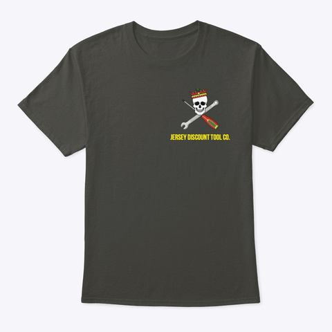Jdt Co. Standard Smoke Gray T-Shirt Front