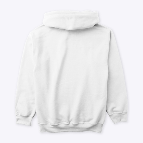 Pendulum White Sweatshirt Back