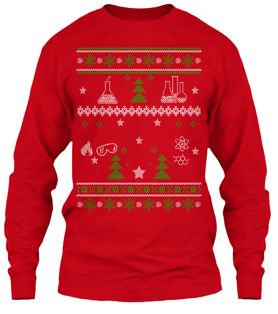 Science Ugly Christmas Sweater!