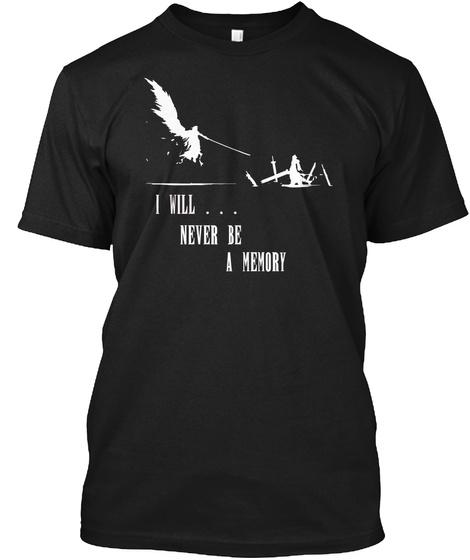 [Relaunch] Cloud Vs Sephiroth Ff7 Ac Black T-Shirt Front
