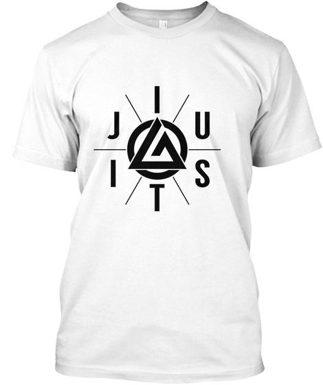 Jitsui White T-Shirt Front