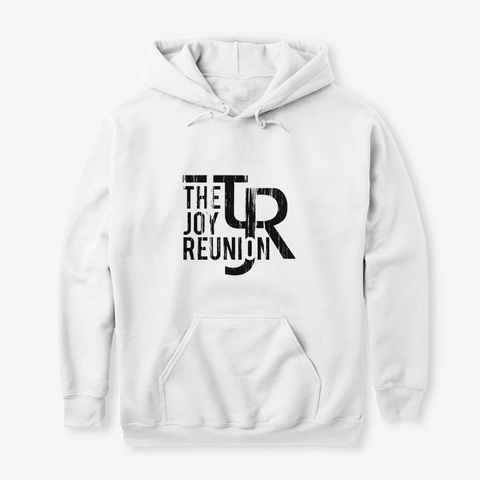 "Tjr ""Dem Harms Tho..."" Hoodie White T-Shirt Front"
