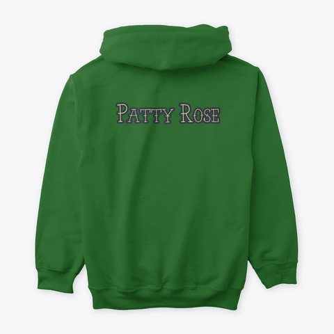 Patty Rose 2020 Collection Irish Green T-Shirt Back