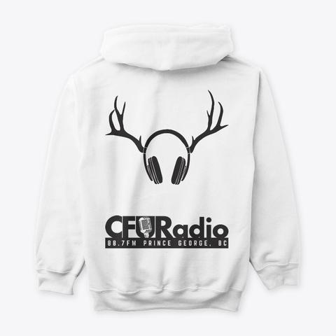 Cfur Classic   White White T-Shirt Back