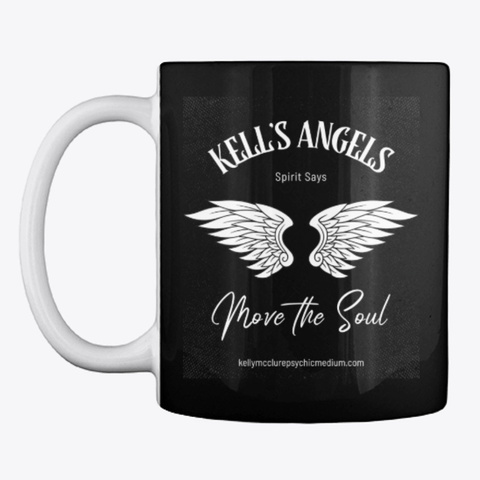 Kell's Angels Move The Soul 2 Black T-Shirt Front