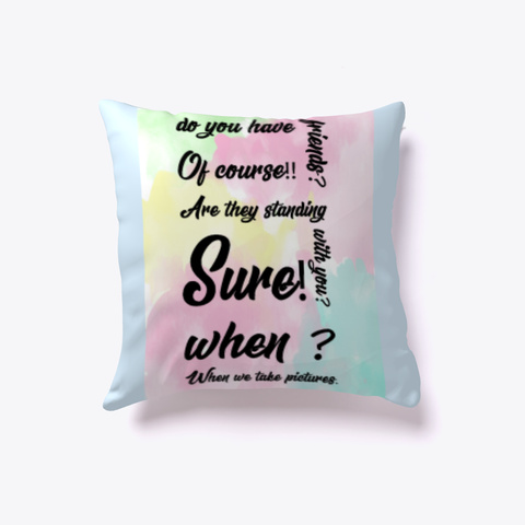 Luxury Pillow And Comfortable Home Decor Pale Blue T-Shirt Front