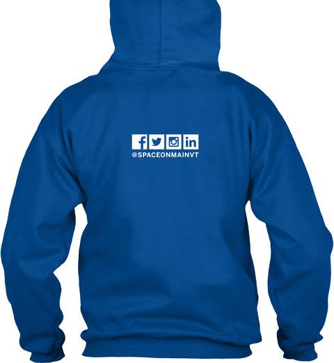 Som Kc Cowork Hoodie Royal Sweatshirt Back