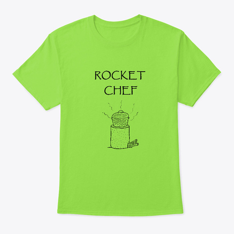 Rocket Chef Lime T-Shirt Front