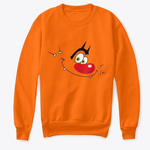 Oggy Classic  Orange T-Shirt Front