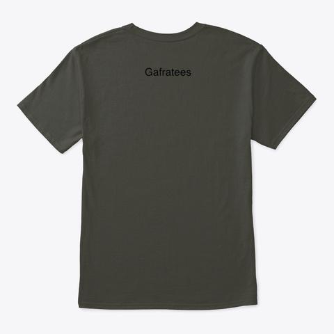 Super Bosses, Sneaky Tiger Smoke Gray T-Shirt Back