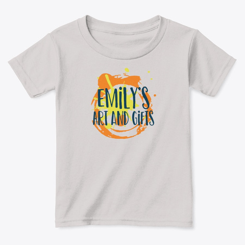 Emily's Art And Gifts Light Design Sport Grey  T-Shirt Front